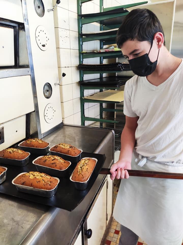 notre apprenti 1er année Cap pâtissier